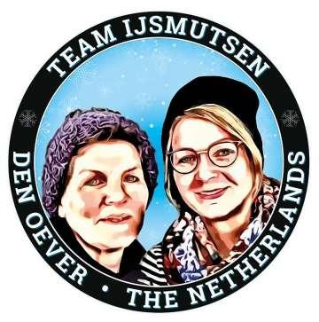 Team IJsmutsen Janneke en Meike de Jong